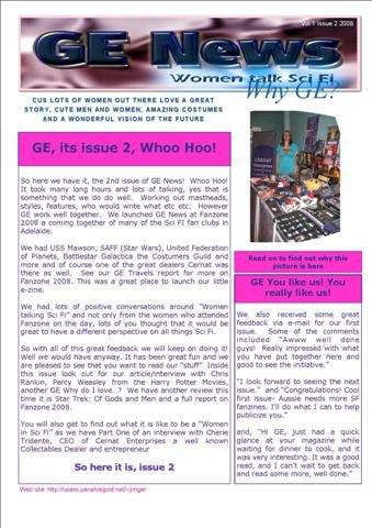 Issue 2 of GE News