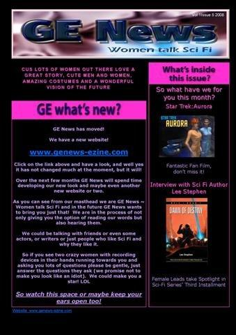 Issue 5 of GE News